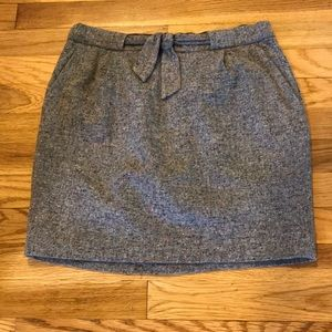 J.crew | skirt - wool mini
